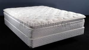 brooklyn pillow top queen euro style mattress 23042 by king koil