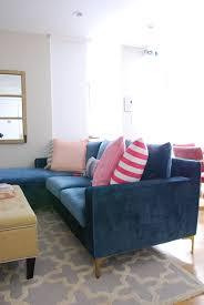 Define Livingroom Interior Define Sloan Sectional Effortless Style Blog