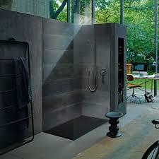 rectangular shower base stone extra flat flush stonetto by