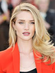 rosie huntington side parted lob dianna agron hairstyles haircuts blondes and hair makeup