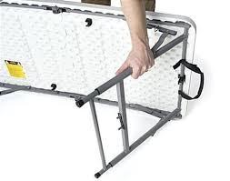 foldable table adjustable height tall folding table folding table stool tall 36 high folding table