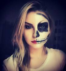 original halloween makeup my halloween makeup uploaded by c i c on we heart it