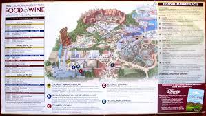 map of california adventure it s back the 2016 disney california adventure food and wine