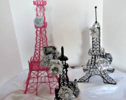 eiffel tower centerpiece parisian decoration centerpiece