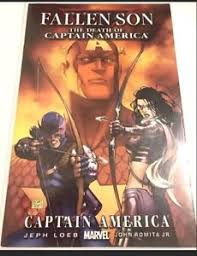 fallen film vf fallen son the death of captain america 2007 series vf nm marvel