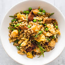 fried brown rice with pork and shrimp america u0027s test kitchen