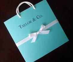 breakfast at tiffany u0027s shower invitation blue wedding