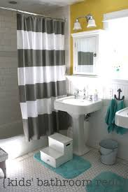kid bathroom ideas bathroom update the pleated poppy
