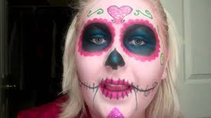 dead makeup halloween day of the dead skull candy makeup youtube