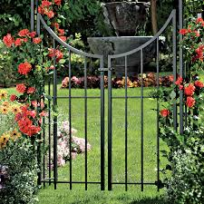 fleur de lis arbor with gate from jackson u0026 perkins