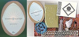 madonna ray of light 10 piece promo only henna tattoo kit 61400