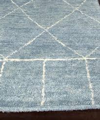 tangier hand knotted wool rug slate blue u2013 high street market