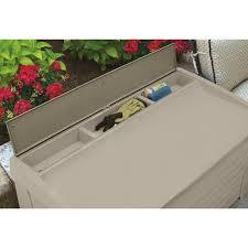 suncast 127 gallon resin deck box u0026 reviews wayfair ca