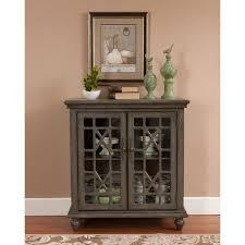 Two Door Cabinet Treasure Trove Accents Joplin Texture Grey Two Door Cabinet Free