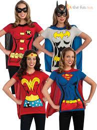 Woman Superhero Halloween Costumes Superhero Ladies Shirt U0026 Cape Hen Night Women U0027s Fancy Dress