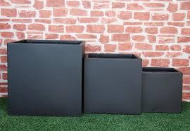 3pc matte black planter boxes u2022 grabone nz