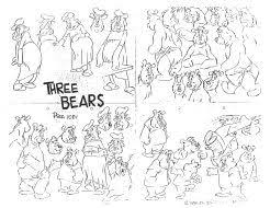 26 model sheets images drawing cartoons