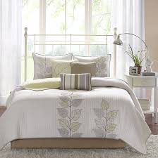 amazon com madison park caelie 6 piece quilted coverlet set