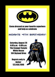 awesome batman birthday party invitations u2014 liviroom decors