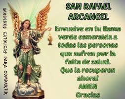 imagenes catolicas para compartir pedimos a san rafael arcangel que imágenes católicas para