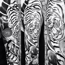 tiger sleeve japanese japanese
