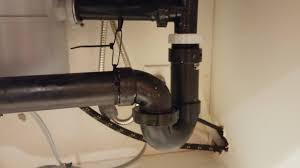 plumbing how do i repair this friction abs kitchen sink pipe