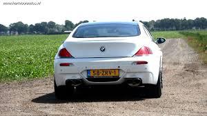 bmw m6 v10 bmw m6 v10 eisenmann exhaust sounds hartvoorautos nl