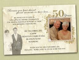 50 wedding anniversary invitation 50th wedding anniversary