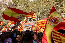 The Spain Flag Spain U0027takes Back Control U0027 Of Catalan Government