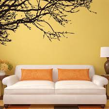 Tree Wall Decals For Living Room Black Tree Wall Decal Roselawnlutheran