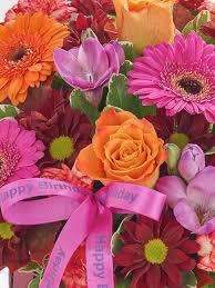 the flower garden happy birthday autumn basket the flower garden