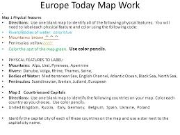 blank europe map with country names europe today map work ss6g8 will locate selected features of