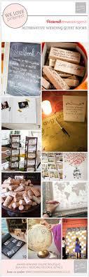 alternative wedding guest book ideas wedding guest book ideas