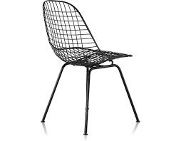 Wire Patio Chairs by Eames Wire Chair With 4 Leg Base Hivemodern Com