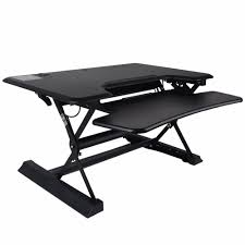Computer Desk Adjustable Height by Shellhard 90x60cm Laptop Desk Standing Adjustable Height Stand Up