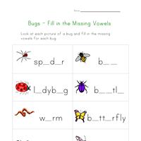 bug worksheets for kids all kids network