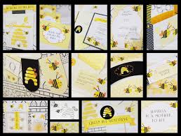 new to the shop printable bee party kit