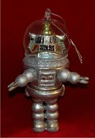 robot lost in space personalized ornaments by
