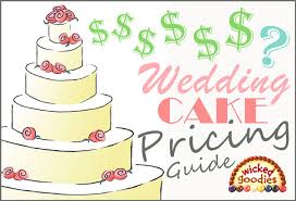 wedding cake prices wedding cake pricing