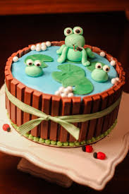 Home Made Cake Decorations by Best 25 Frog Cakes Ideas On Pinterest Fondant Frog