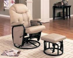 swivel glider rocker with ottoman foter