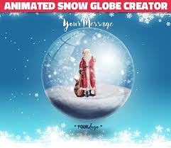 animated snow globe photoshop for by psddude