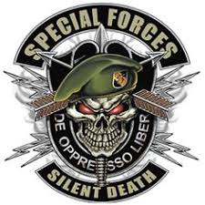 special forces skull novelty patch lock and load pinterest