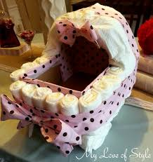 diy bassinet diaper cake tutorial my love of style u2013 my love of
