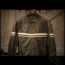 leather riding jackets river road hoodlum vintage leather jacket mens black leather
