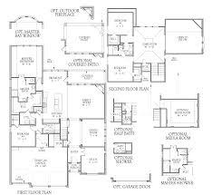 half bath plans 5687 floor plan at long meadow farms the trace in richmond tx