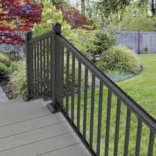 cambridge mix n match ready to assemble aluminum stair rail kit