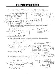 calorimetry worksheet problems solutions 01 u2013 stan u0027s page