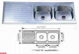 Standard Kitchen Sink Size Kitchen by How Big Should Your Kitchen Sink Ward Log Homes With Regard To