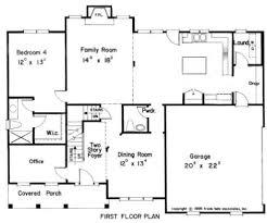 floor plans for 1 homes traditional floor plan raleigh custom home stanton homes